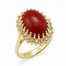 珊瑚 指輪