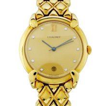 ショーメ グリフィス K18YG 腕時計 買取価格250,000円