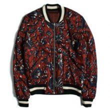 イザベルマラン ロゴ 刺繍 リバーシブル ボンバージャケット