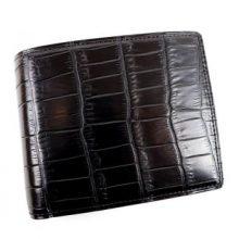 ガンゾ クロコダイル 二つ折り財布 買取価格75,000円