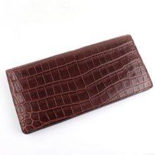 ガンゾ クロコダイル 二つ折り長財布 買取価格76,000円