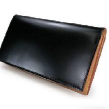 ココマイスター コードバン長財布 買取価格45,000円