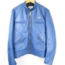 ルイスレザー シングルライダース ブルー 買取価格60,000円