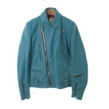 ルイスレザー ブルー レザージャケット 買取価格40,000円