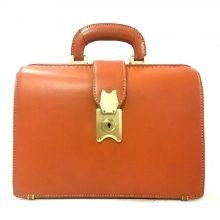 土屋鞄 ハンドバッグ ブラウン 買取価格22,000円
