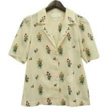 mame フラワーエンブロイダリーシャツ 買取価格28,000円