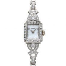ハミルトン 腕時計 14KWG ダイヤ 買取価格100,000円