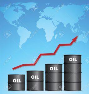 原油価格の変動